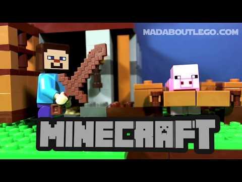 Vidéo LEGO Minecraft 21115 : La première nuit