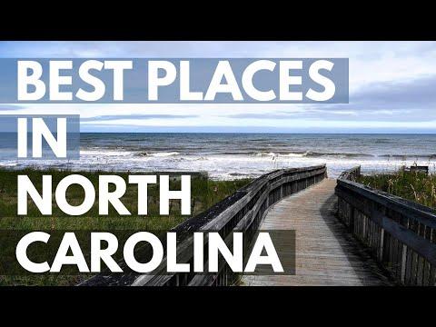 Video 10 Best Travel Destinations in North Carolina USA