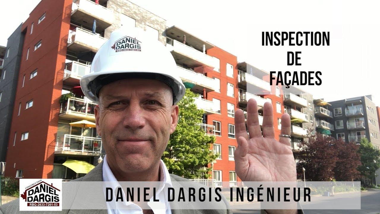 Inspection de façade loi 122 - Préventive, de Stabilisation et Urgente - Daniel Dargis ingénieur