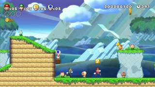 E3 2012: New Super Mario Bros. U Demo