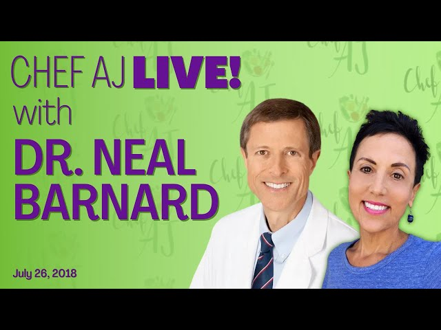 Healthy Living LIVE with Dr Neal Barnard on Diabetes, Dopamine, Food Addiction and more