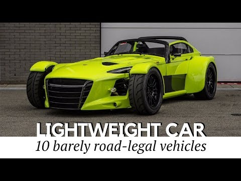 Top 10 Lightweight Cars With Supersports Performance (Fastest 0-60 Acceleration)