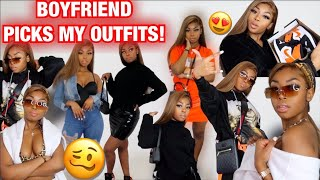 MY BOYFRIEND PICKED MY OUTFITS! WITH ONLY JORDAN 1 ! LISAAH MAPSIE