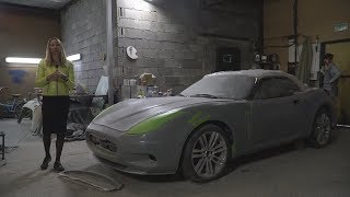 Replica Maserati? Самодельный монстр с V8. Часть 2