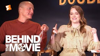 Emma Stone & Woody Harrelson Talk Partying and Swap Jokes | Zombieland: Double Tap Interview