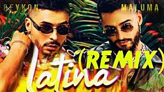 Reykon - Latina [REMIX] (feat. Maluma) DJ OKR style