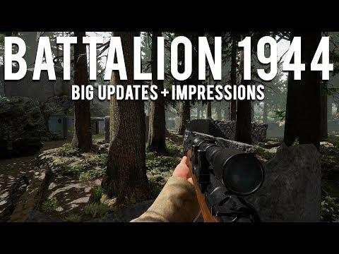 Battalion 1944 Big updates and Impressions