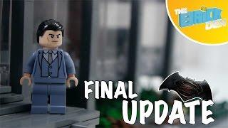 Lego Batman V Superman BATCAVE MOC-Update 2/Final Update!