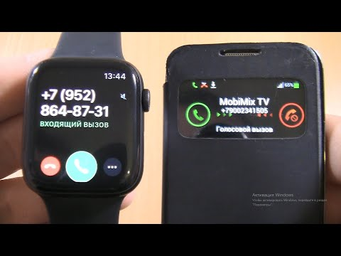 Incoming call:Apple Watch SE &SAMSUNG GALAXY S4 Mini IN S VIEW FLIP COVER CASE
