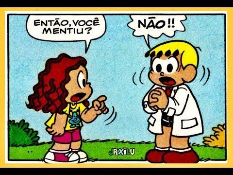 Marina - Amor, a quantas me obrigas! - quadrinhos Turma da Mônica