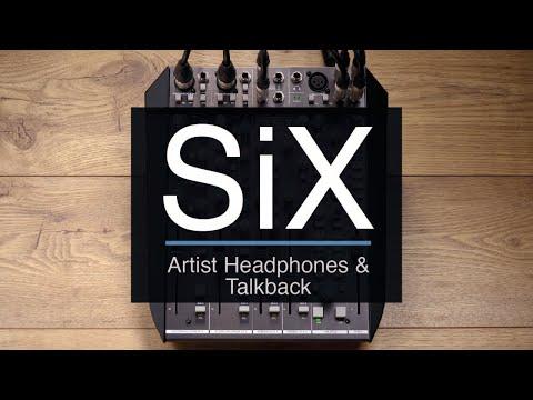 SSL SiX - Artist Headphones and Talkback