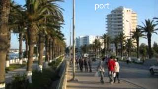preview picture of video 'the tunisian City Bizerte the pearl of the North  بنزرت عاصمة الشمال'