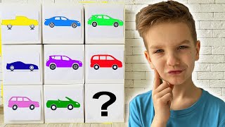 Mark learn car body types Educational video for kids