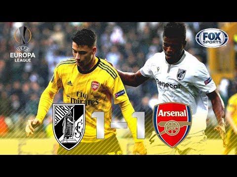 EMOÇÃO ATÉ O FIM! Veja os melhores momentos de Vitória de Guimarães 1 x 1 Arsenal pela Europa League