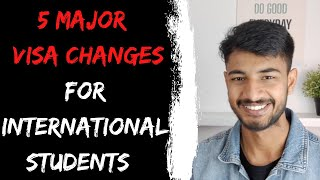 5 MAJOR VISA CHANGES EXPLAINED | International students in Australia | Internash
