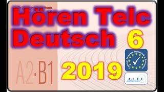 скачать B1 Hören Telc Test смотреть онлайн видео
