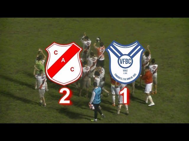 Colegiales 2 – 1 Viale FBC: Los goles