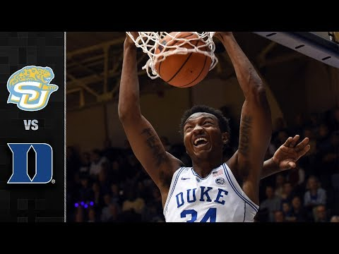 Southern vs Duke Basketball Highlights (2017)