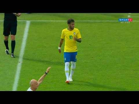 Neymar vs Austria (Away) HD 720p (10/06/2018)