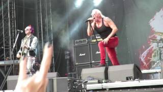 Dee Snider 'We're Not Gonna Take It' Masters Of Rock,Vizovice 16th July 2017