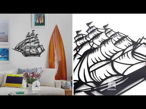 Wall art metal idea | custom wall art | custom metal panel | metal art | by argonesia