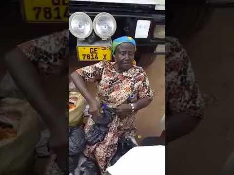 Auntie Comfort selling local penis enhancer [Ghana]