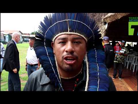 Ivan dos Santos, índio terena fala sobre o espaço do Memorial do Índio em Campo Grande