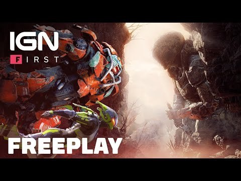 8 minutes de gameplay en exploration - IGN First de Anthem