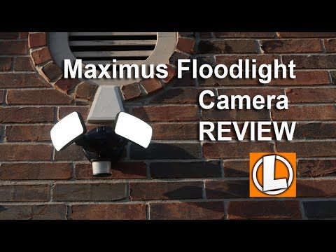 Maximus Floodlight Camera Review - Unboxing, Features, Setup, Setting, Installation, Video Footage by LifeHackster