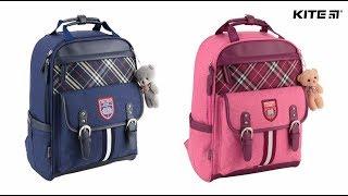 """Рюкзак школьный Kite Сollege line K18-737М-2 от компании Интернет-магазин """"Радуга"""" - школьные рюкзаки, канцтовары, творчество - видео"""