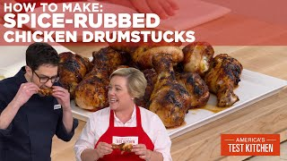 How to Make Grilled Spice-Rubbed Chicken Drumsticks