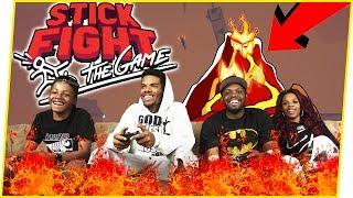 INTENSE LAVA BATTLE ROYALE! - Stick Fight Gameplay