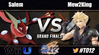 MVG|Salem (Greninja) vs FOX MVG|Mew2King (Cloud) - Wii U Grand Finals - Tipped Off 12