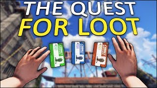 THE QUEST FOR LOOT! - Rust Solo #2