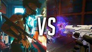 Cyberpunk 2077: FPS vs Third Person