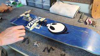 HOW TO BUILD A SKATEBOARD 100% - Building A Complete Custom Blind World Industries Skateboard!