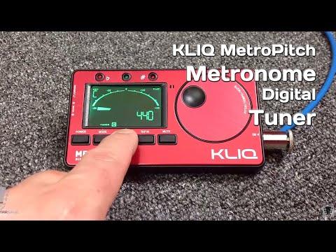 MetroPitch KLIQ Metronome Tuner - Gear Review