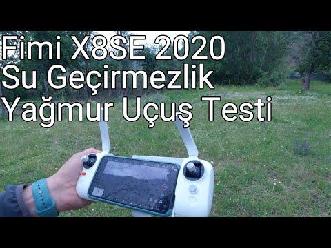 Fimi X8SE 2020 Su Geçirmezlik Testi