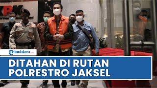 Ditetapkan Sebagai Tersangka, Aziz Syamsuddin Ditahan di Rutan Polres Metro Jakarta Selatan
