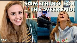 Writing my Book & Games Night with my Boyfriend | Hannah Witton | AD