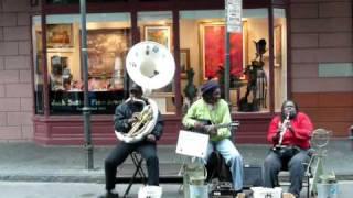New Orleans Street Jazz Video