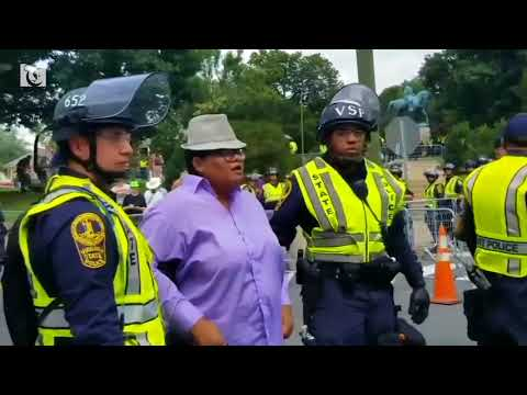 Police make arrest on day of remembrance in Charlottesville
