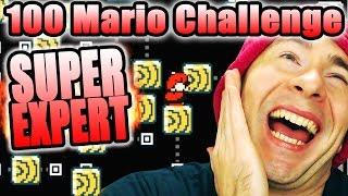 MOST FUN I'VE EVER HAD ~ Super Mario Maker [100 MARIO SUPER EXPERT]