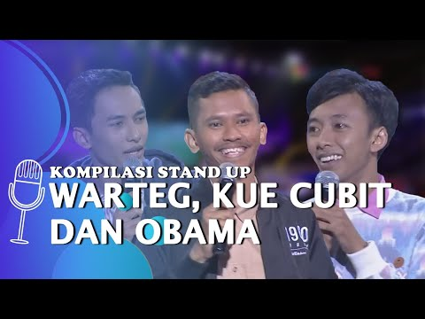 kompilasi stand up comedy kuliner di indonesia makanan favorit obama the changcuters dan warteg