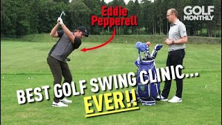 BEST GOLF SWING CLINIC EVER!! Eddie Pepperell I Golf Monthly