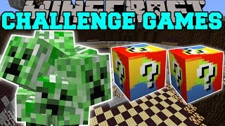 Minecraft: CREEP CHALLENGE GAMES - Lucky Block Mod - Modded Mini-Game