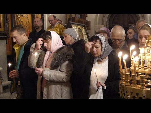 Молитва в День памяти жертв ДТП. 20.11.16