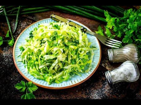 Витаминный салатик от Луча ( Vitamin salad with Pollock caviar )