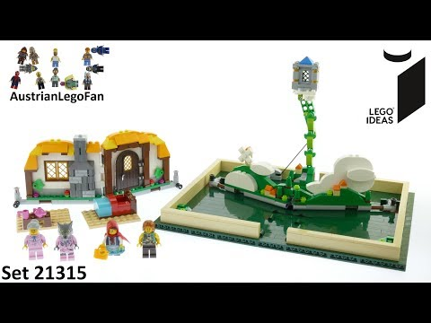 Vidéo LEGO Ideas 21315 : Livre pop-up
