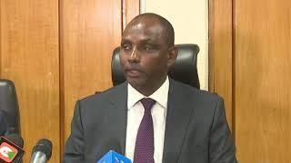 CS Ukur briefs on the Counties revenue allocations